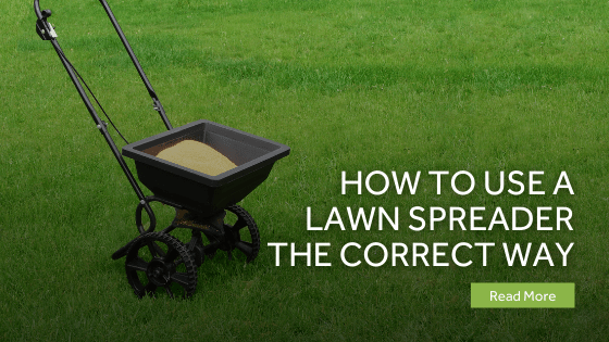 How to Use a Lawn Spreader the Correct Way