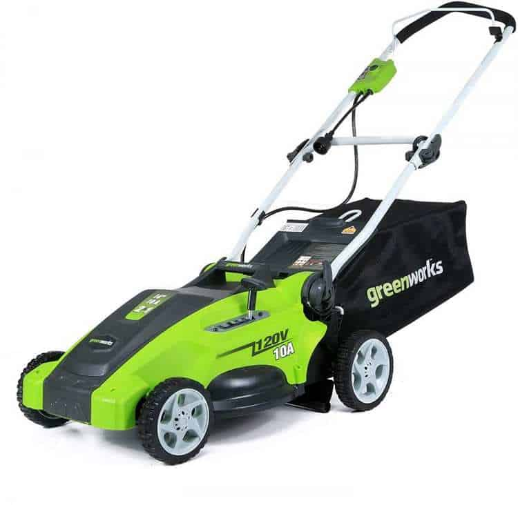 Greenworks 16-Inch 10 Amp Corded Electric Lawn Mower Review