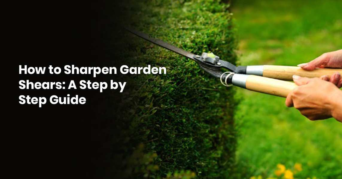 How To Sharpen Garden Shears: A Step By Step Guide