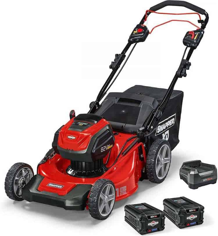 Snapper XD 82V MAX Electric Cordless 21-Inch Self-Propelled Lawnmower Kit Review