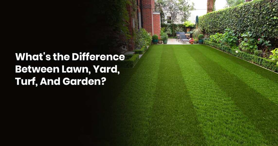 What's The Difference Between Lawn, Yard, Turf, And Garden